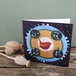 moon phases wren mandala